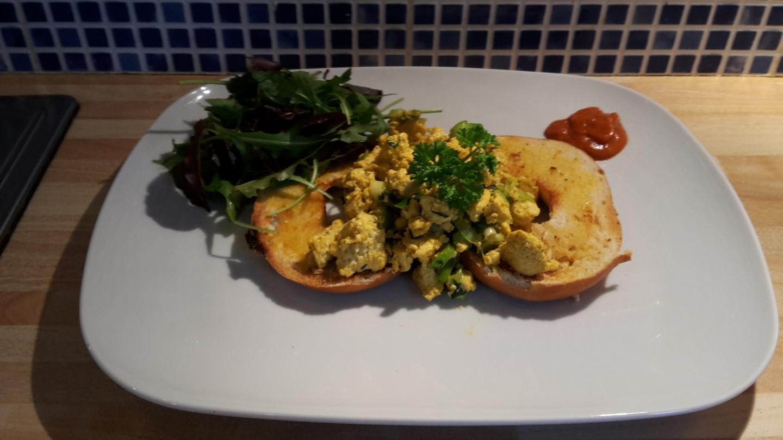 Scrambled not-eggs